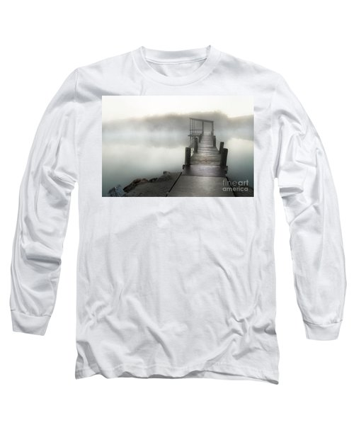 Long Sleeve T-Shirt featuring the photograph Yesterday's Early Morning Pier by Tamyra Ayles