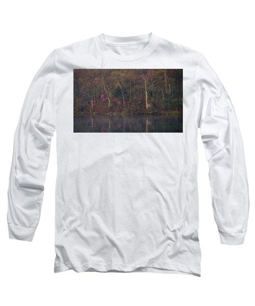 Early Spring Lake Shore Long Sleeve T-Shirt