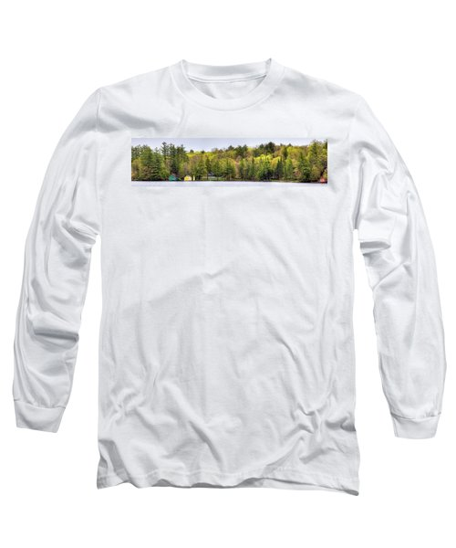 Early Spring Panorama Long Sleeve T-Shirt by David Patterson