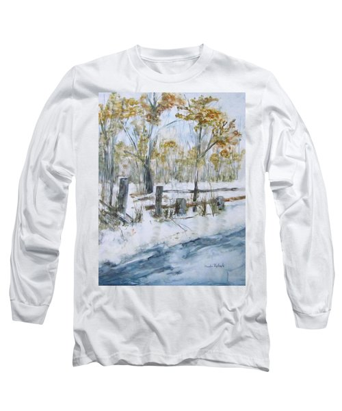 Early Spring Snow Long Sleeve T-Shirt