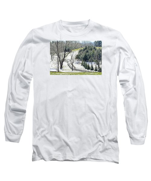 Early Winter Pasture Long Sleeve T-Shirt
