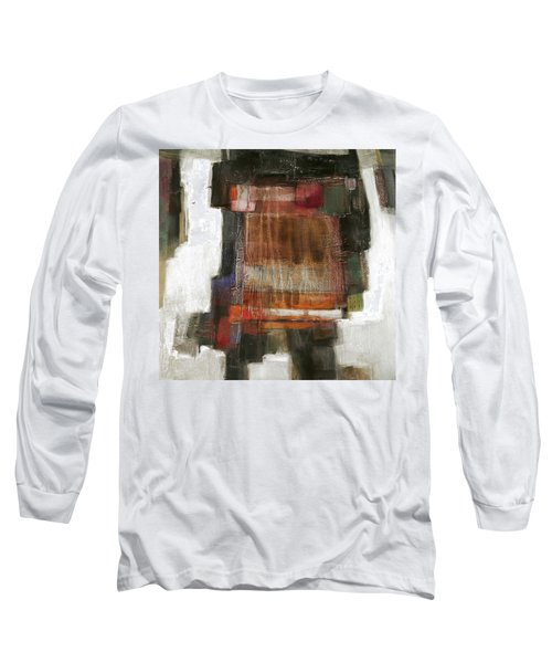 Orange Home Long Sleeve T-Shirt by Behzad Sohrabi