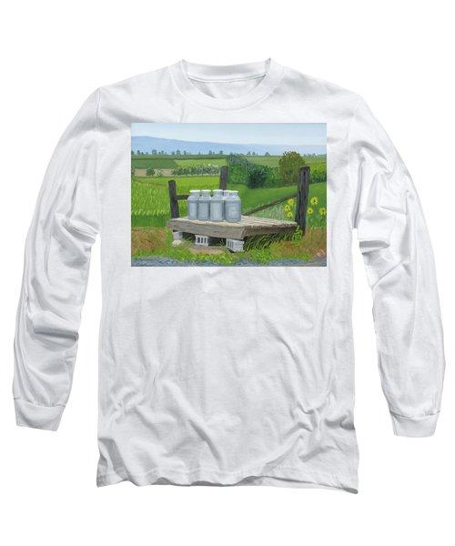 East Back Mountain Road Long Sleeve T-Shirt