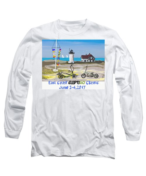 East Coast Elliptigo Classic  Opus 3 Long Sleeve T-Shirt