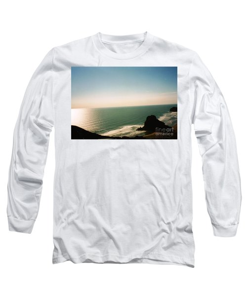 East Coastline In New Zealand Long Sleeve T-Shirt