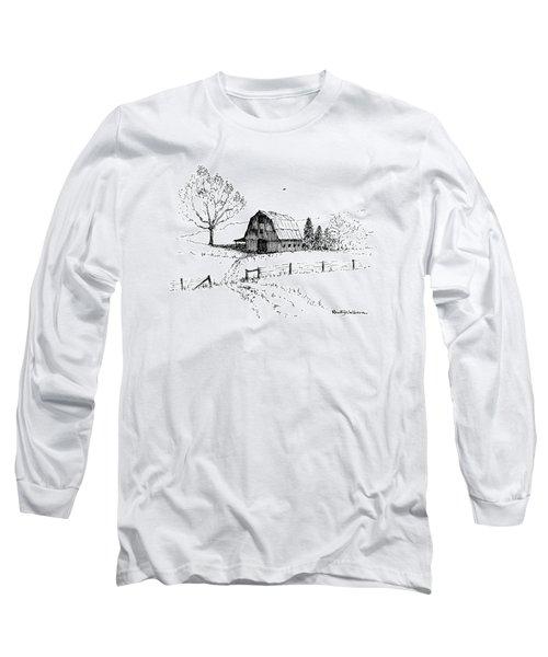 East Texas Hay Barn Long Sleeve T-Shirt