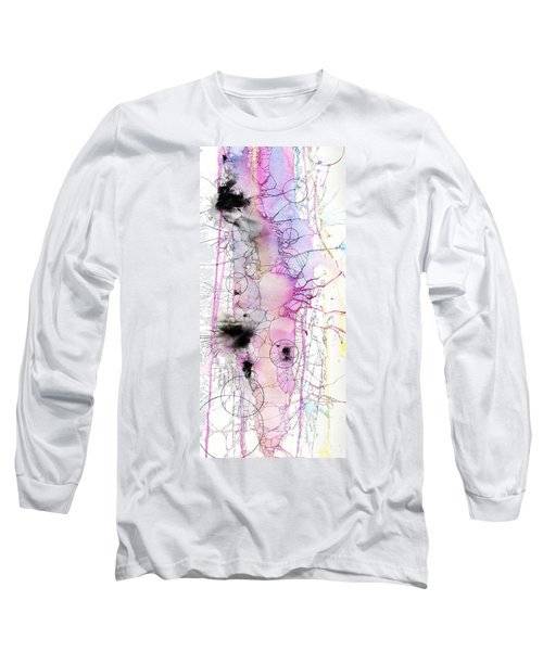 Long Sleeve T-Shirt featuring the painting Easter Egg Fry Up by Rebecca Davis