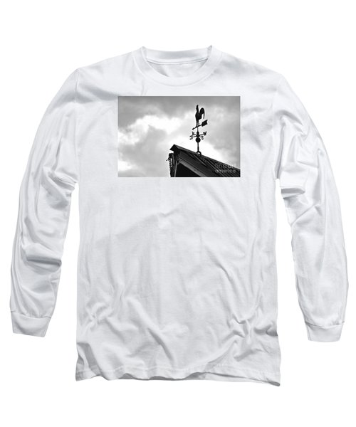 Easterly Wind  Long Sleeve T-Shirt by Juls Adams