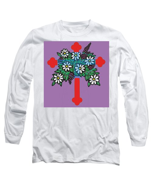 Eastern Ornate Long Sleeve T-Shirt