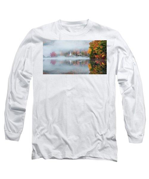 Eaton, Nh Long Sleeve T-Shirt by Robert Clifford