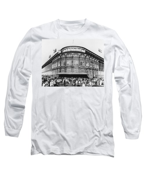 Ebbets Field, Brooklyn, Nyc Long Sleeve T-Shirt