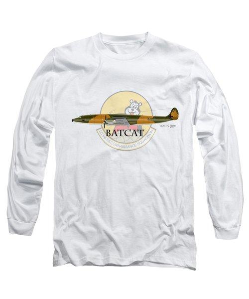Ec-121r Batcat 553 Long Sleeve T-Shirt by Arthur Eggers