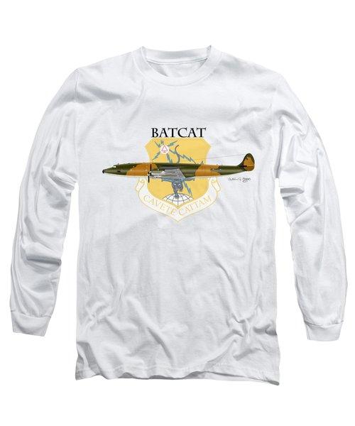 Ec-121r Batcatcavete Long Sleeve T-Shirt by Arthur Eggers