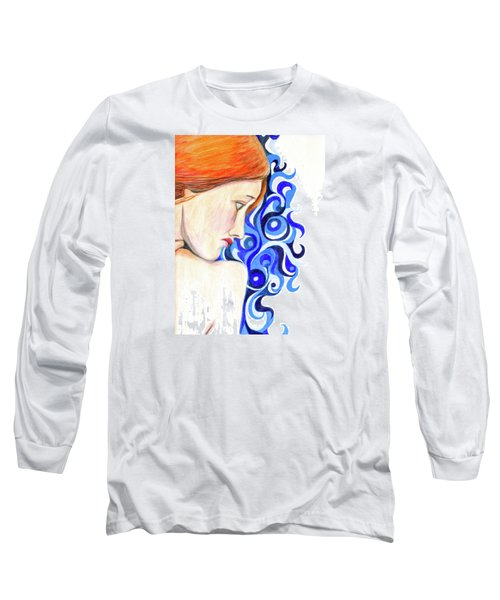 Long Sleeve T-Shirt featuring the photograph Echo Looking Upon Narcissus by Jean Haynes