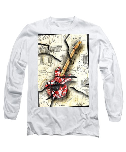 Eddie's Guitar Long Sleeve T-Shirt