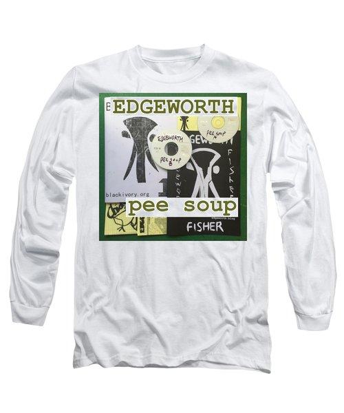 Edgeworth Pee Soup Album Cover Design Long Sleeve T-Shirt