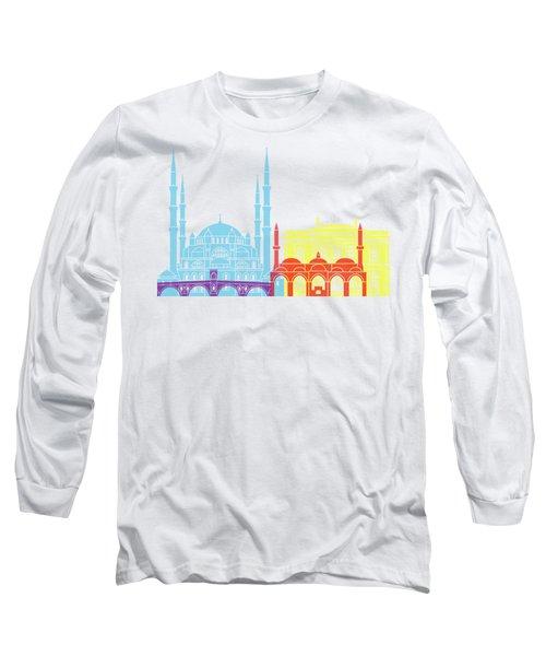 Edirne Skyline Pop Long Sleeve T-Shirt