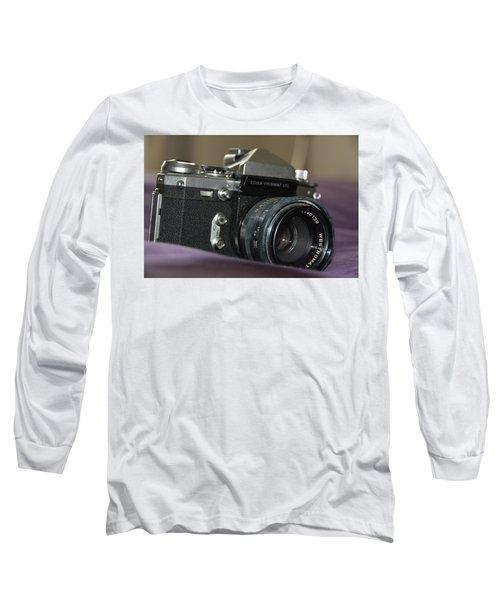 Long Sleeve T-Shirt featuring the photograph Edixa Prismat L T L by John Schneider
