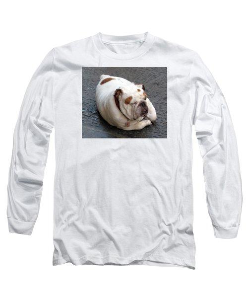 Eduardo Of Firenze Dog Long Sleeve T-Shirt by Lisa Boyd