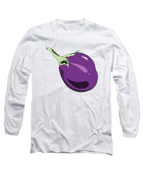 Eggplant Long Sleeve T-Shirt