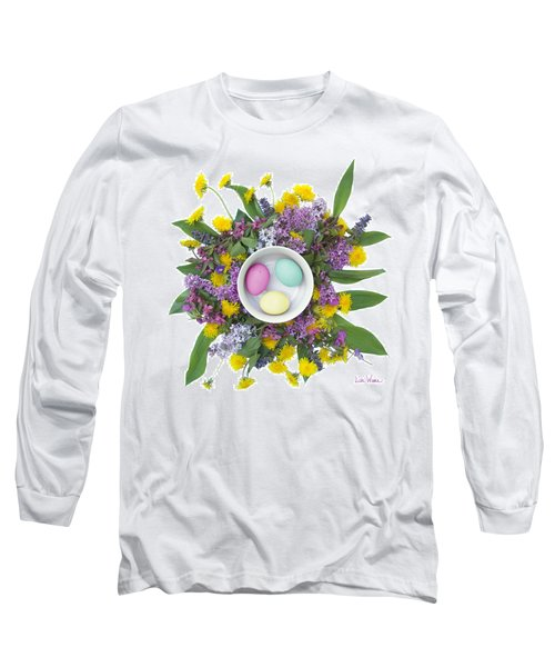 Eggs In A Bowl Long Sleeve T-Shirt