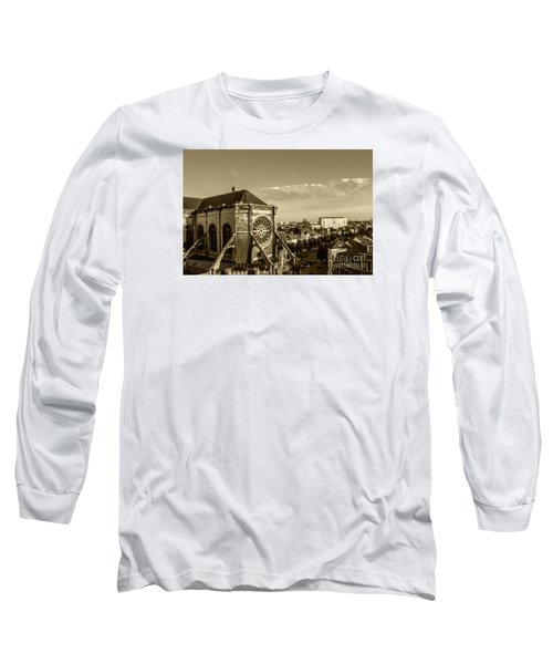 Long Sleeve T-Shirt featuring the photograph Eglise De Saint Catherine by Pravine Chester