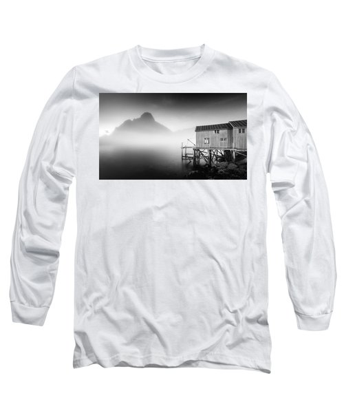 Egulfed By Mist Long Sleeve T-Shirt by Alex Conu
