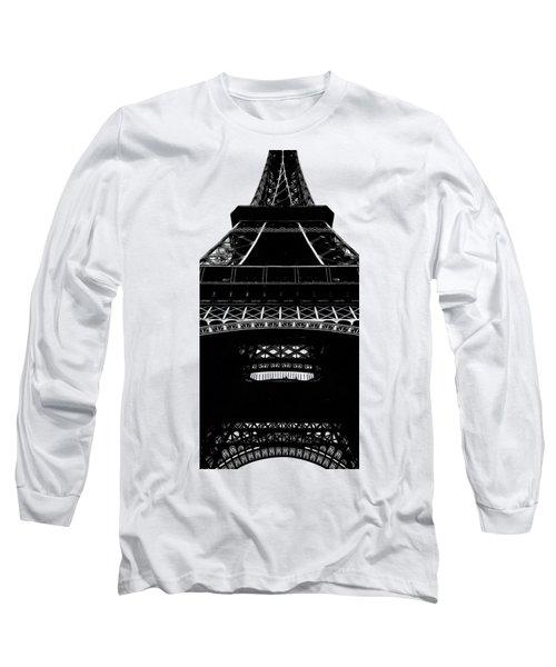 Eiffel Tower Paris Graphic Phone Case Long Sleeve T-Shirt
