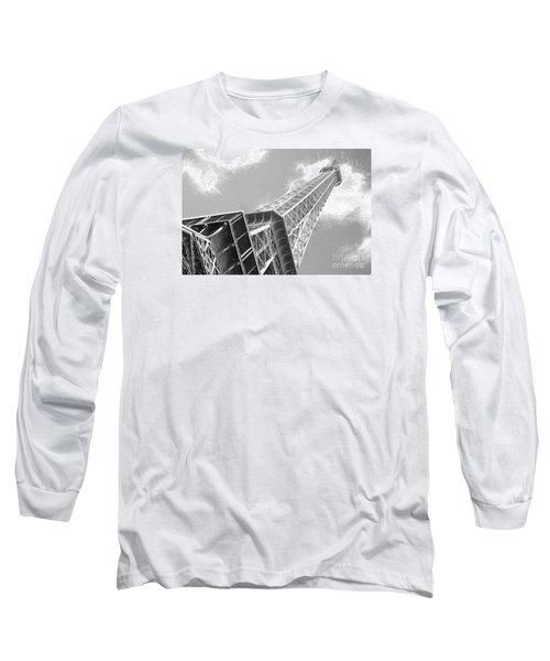 Eiffel Tower Sketch  Long Sleeve T-Shirt