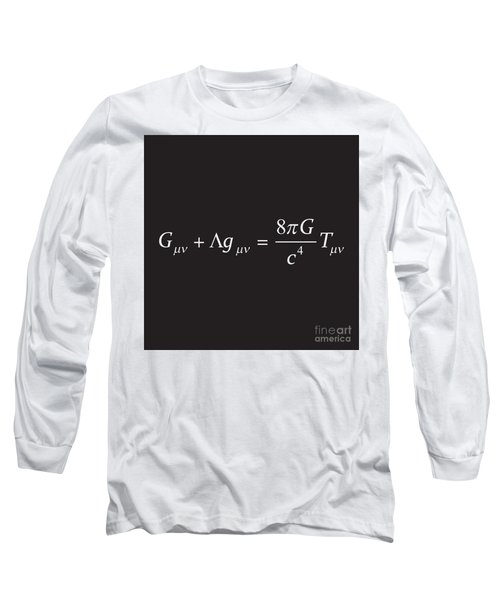 Einstein Field Equation Formula Long Sleeve T-Shirt