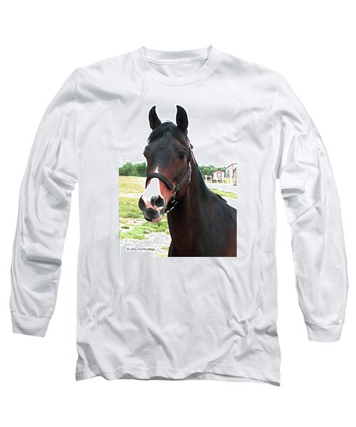 El Ameer Long Sleeve T-Shirt by Joan Hartenstein
