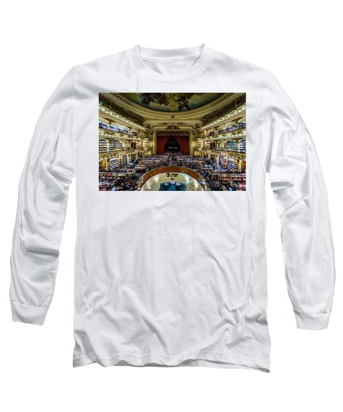 El Ateneo Grand Splendid Long Sleeve T-Shirt