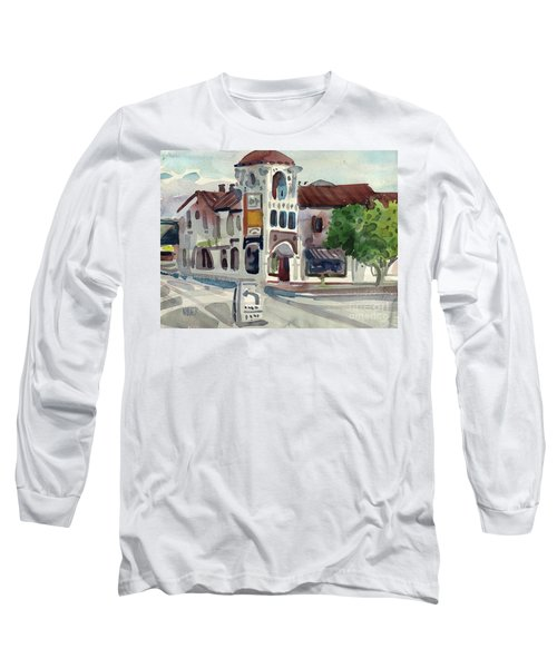 El Camino Real In San Carlos Long Sleeve T-Shirt