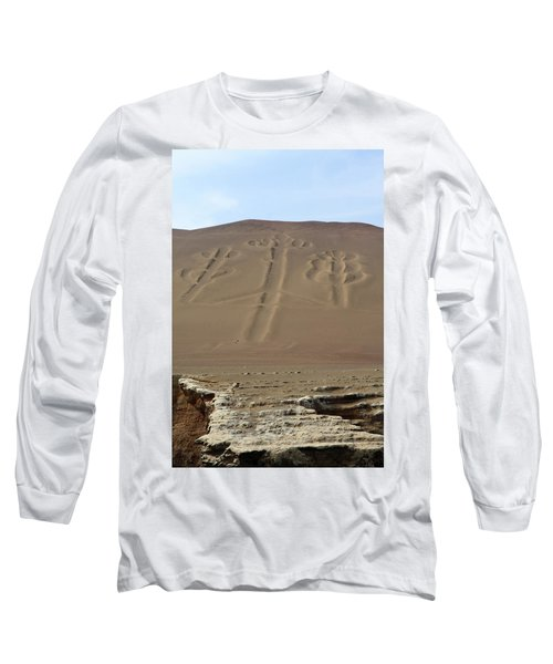 Long Sleeve T-Shirt featuring the photograph El Candelabro by Aidan Moran