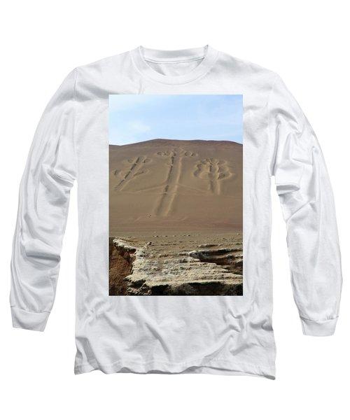 El Candelabro Long Sleeve T-Shirt by Aidan Moran