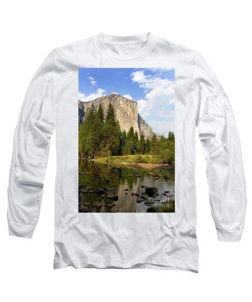 El Capitan Yosemite National Park California Long Sleeve T-Shirt