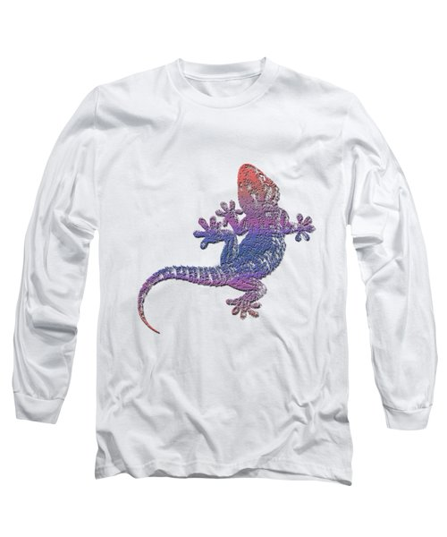 El Gecko Long Sleeve T-Shirt by Jim Pavelle