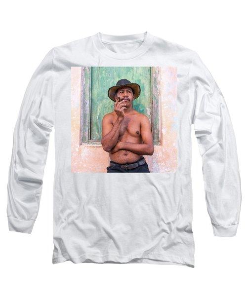 El Hombre Long Sleeve T-Shirt
