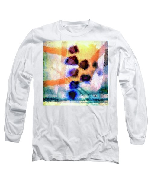 Long Sleeve T-Shirt featuring the painting El Paso Del Tiempo by Dominic Piperata