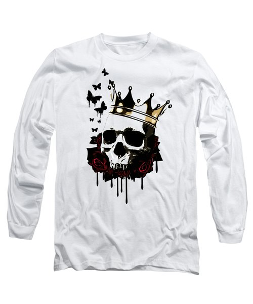 El Rey De La Muerte Long Sleeve T-Shirt