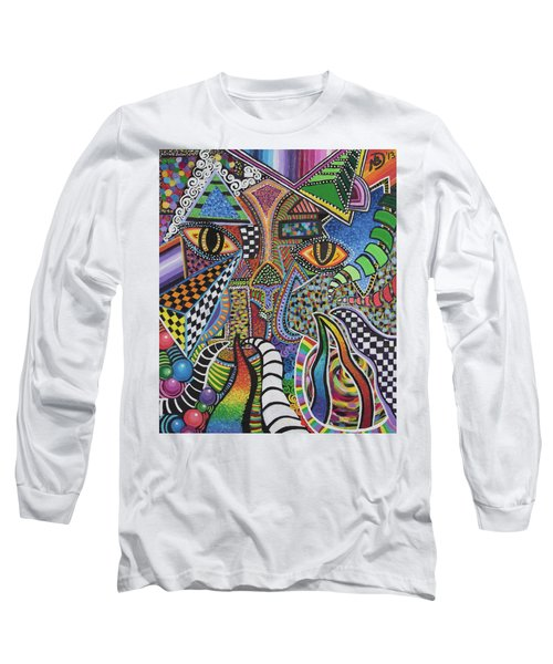 Electric Eyes Long Sleeve T-Shirt