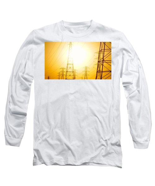 Electricity Towers Long Sleeve T-Shirt