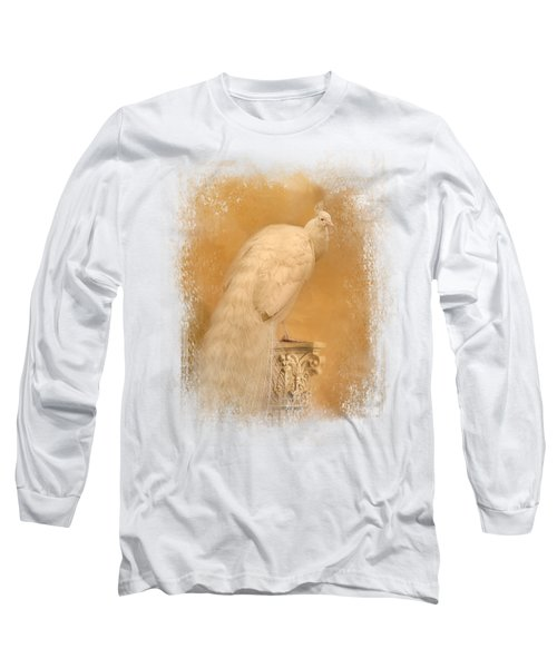 Elegance In Gold Long Sleeve T-Shirt by Jai Johnson