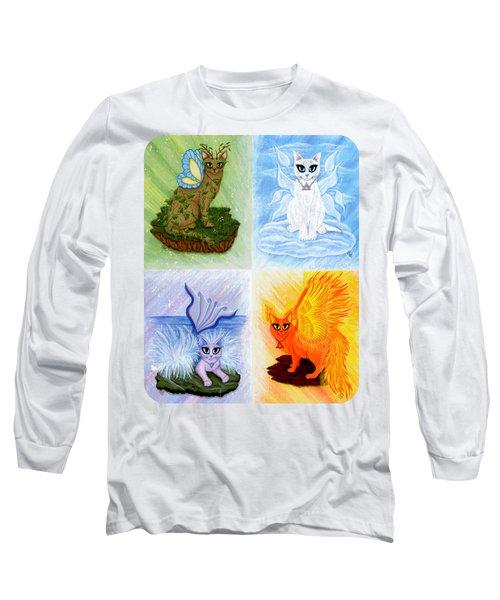Elemental Cats Long Sleeve T-Shirt