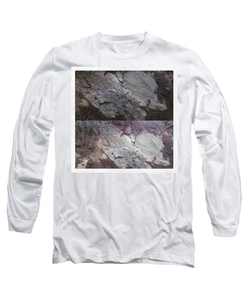 Elephant Formation  Long Sleeve T-Shirt by Nora Boghossian