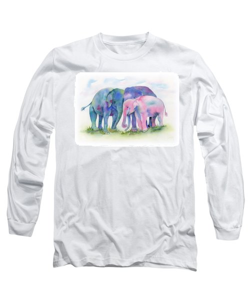 Elephant Hug Long Sleeve T-Shirt