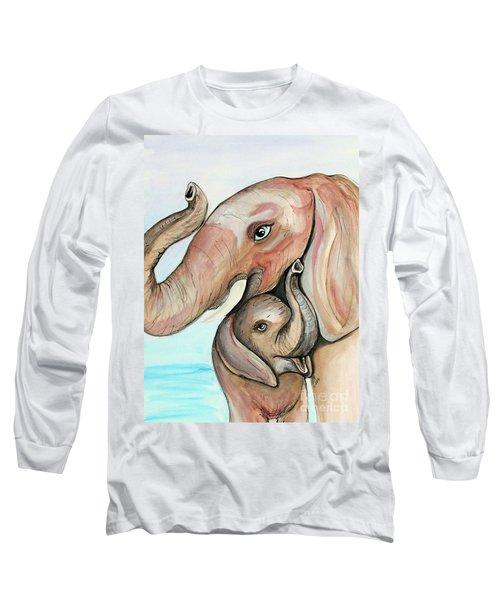 Elephants Long Sleeve T-Shirt