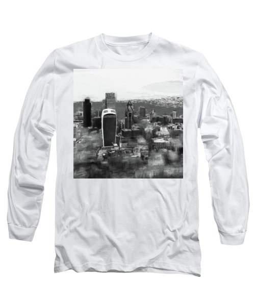 Elevated View Of London Long Sleeve T-Shirt