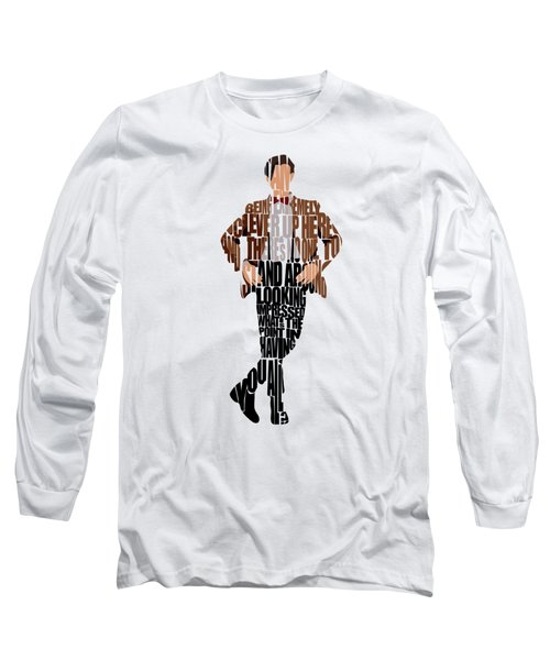 Eleventh Doctor - Doctor Who Long Sleeve T-Shirt