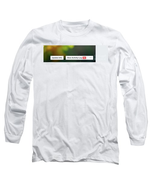 Elipses Long Sleeve T-Shirt by Lois Bryan